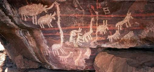 Lukisan Gua Mesolitik