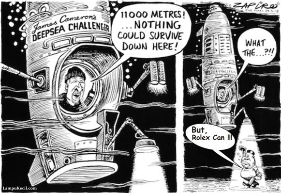 James Cameron dan Deepsea Challenger