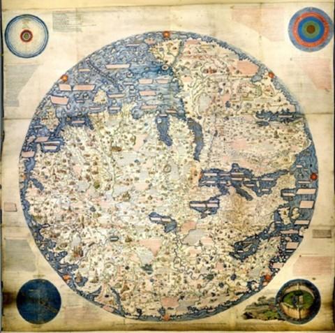 Peta Dunia di Zaman Lampau