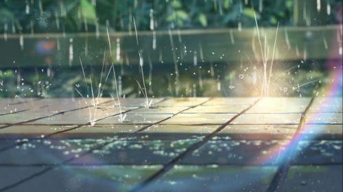 Kotonoha No Niwa The Garden of Words Rains Wallpaper