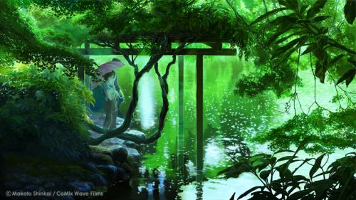 Kotonoha No Niwa The Garden of Words Wallpaper