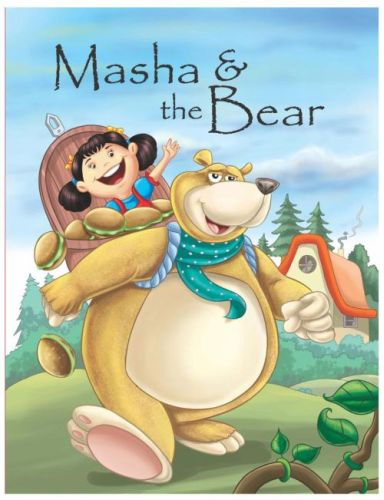 Buku Bergambar Masha and the Bear