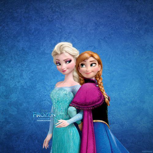 Foto Anna dan Elsa Frozen 3