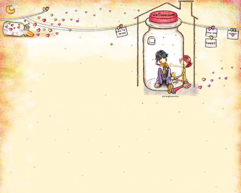 Gambar Ilustrasi Kartun Lucu 7 Lampu Kecil