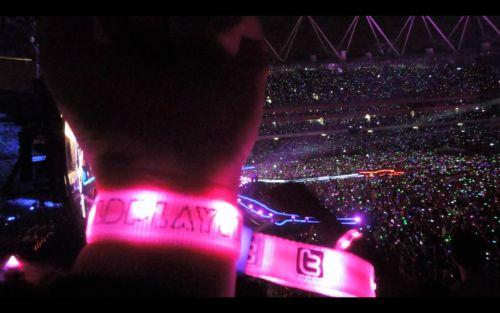Gelang Menyala Coldplay