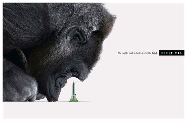 Nanoblock Creative Advertisement