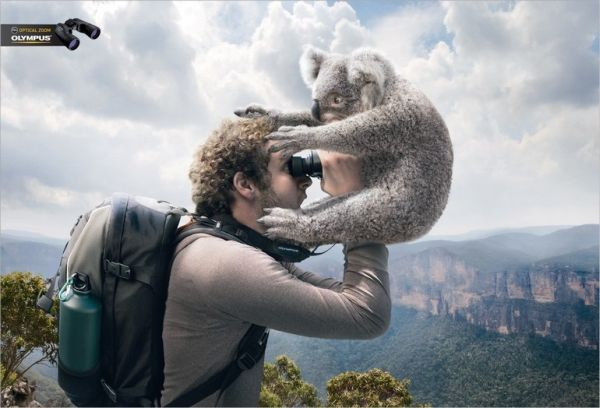 Olympus Optical Zoom Creative Advertisement
