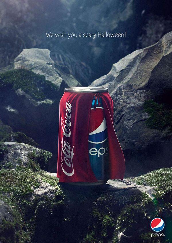 Pepsi halloween Creative Advertisement