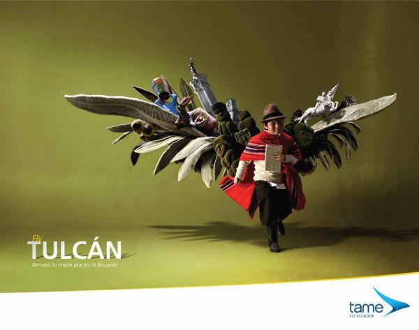 Tame Ecuador Airlines Creative Advertisement