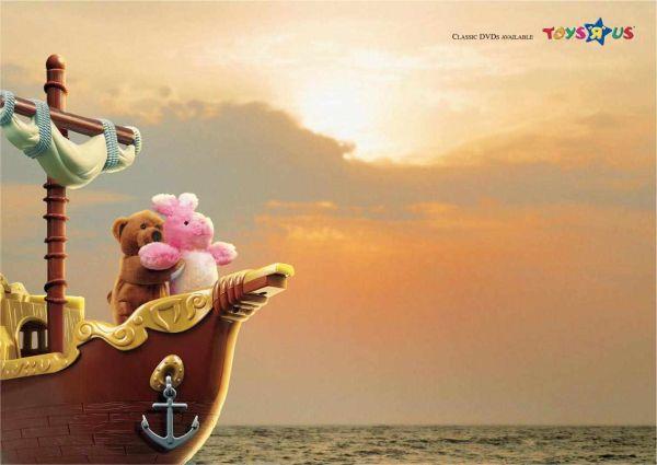 Toys'R'Us Titanic Creative Advertisement