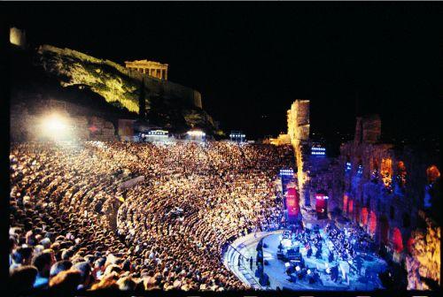 Yanni Konser di Acropolis