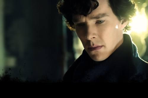 Benedict Cumberbatch sebagai Sherlock Holmes