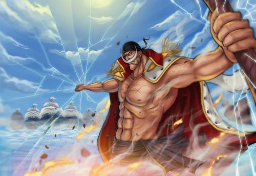 Edward Newgate Whitebeard Earthquake Power