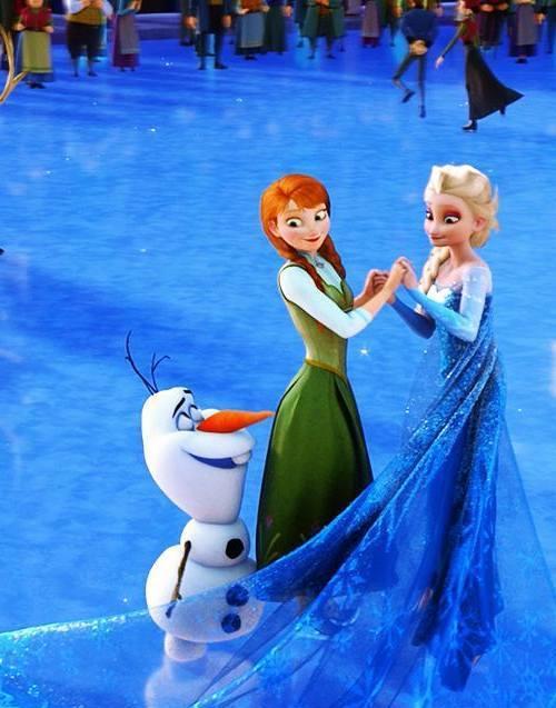 Gambar Foto Anna Elsa Frozen 1