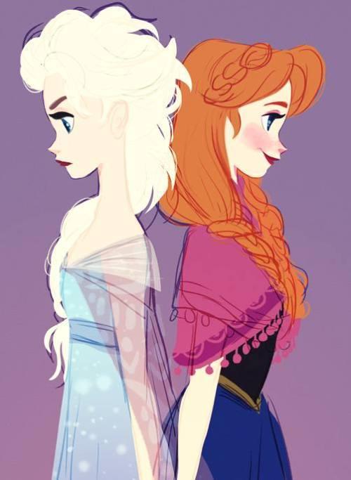 Gambar Foto Anna Elsa Frozen 11