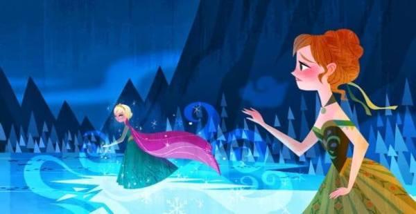 Gambar Foto Anna Elsa Frozen 15