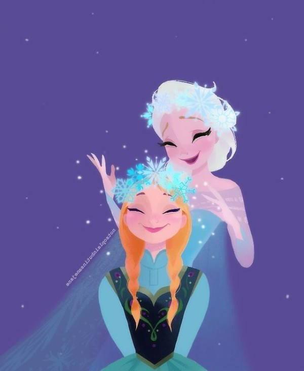 Gambar Foto Anna Elsa Frozen 18