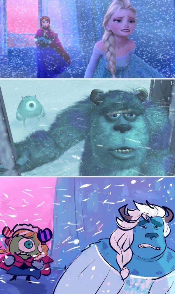 Gambar Foto Anna Elsa Frozen 19