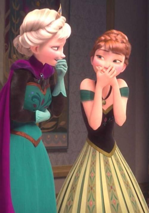 Gambar Foto Anna Elsa Frozen 3