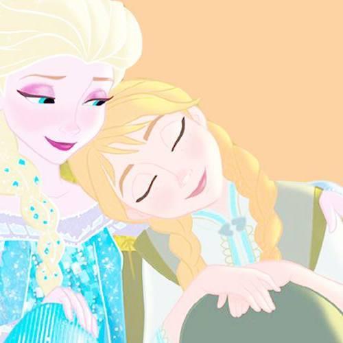 Gambar Foto Anna Elsa Frozen 6