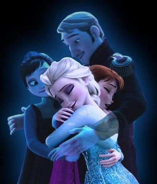Gambar Foto Anna Elsa Frozen 7