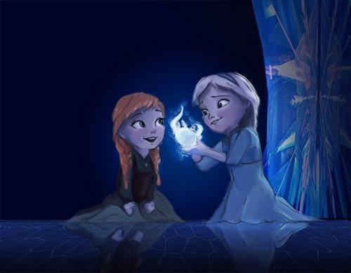 Gambar Foto Anna Elsa Frozen Kecil 6
