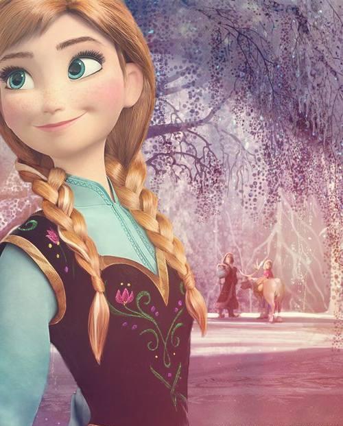 100 gambar animasi disney frozen elsa dan anna lampu