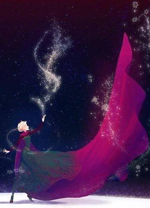 Gambar Foto Elsa Frozen 2