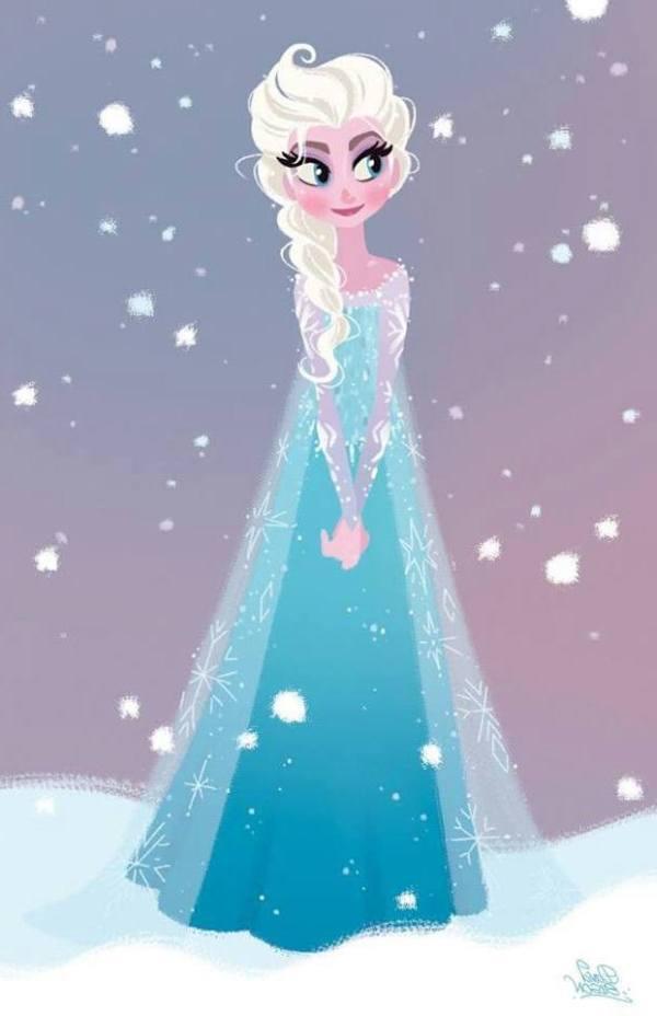 Gambar Foto Elsa Frozen 20