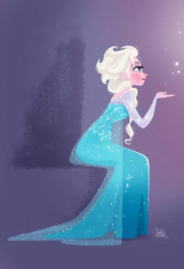Gambar Foto Elsa Frozen 33