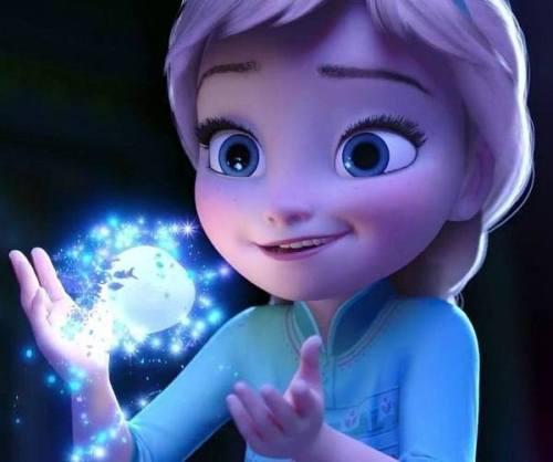 Gambar Foto Elsa Frozen Kecil 3