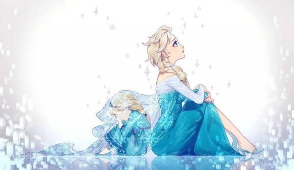 Gambar Foto Elsa Frozen Kecil 8