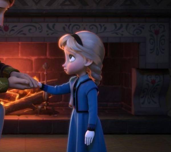 Gambar Foto Elsa Frozen Kecil