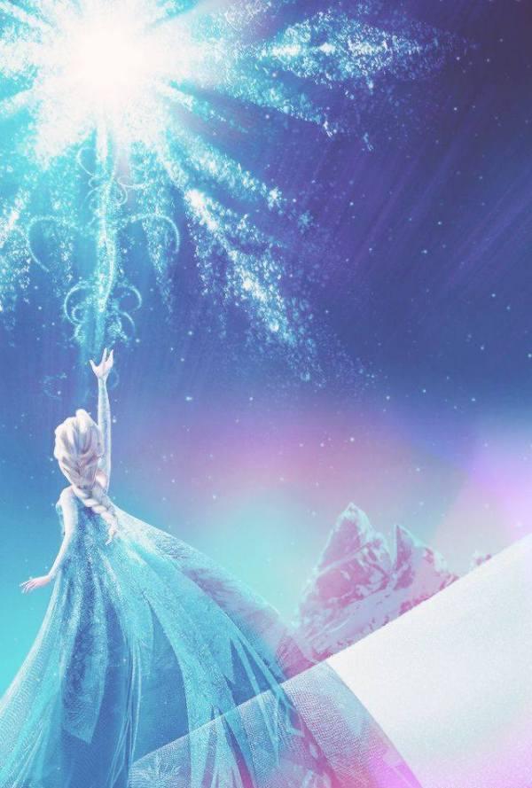 Gambar Foto Elsa Frozen Snow 1