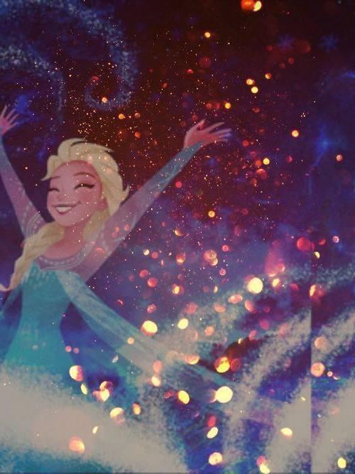 Gambar Foto Elsa Frozen Snow