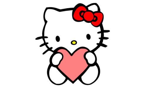 Gambar Hello Kitty Lucu 17