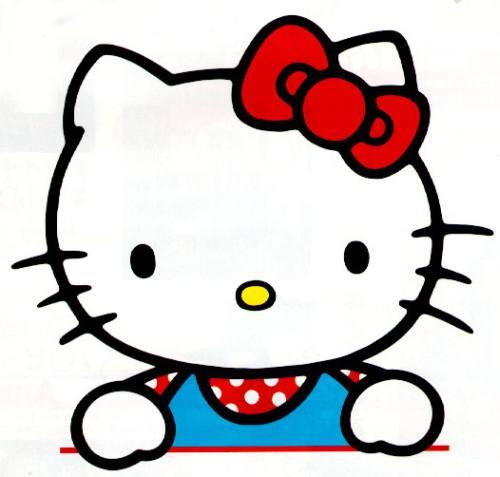 Gambar Hello Kitty Lucu 2 Lampu Kecil