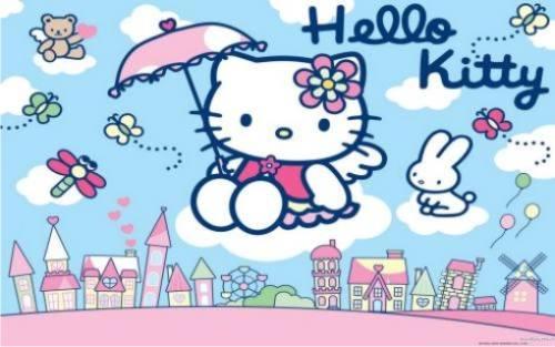 Gambar Hello Kitty Lucu 43
