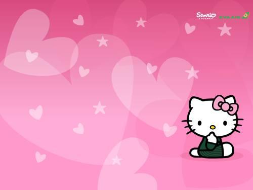Gambar Hello Kitty Lucu 75 Lampu Kecil