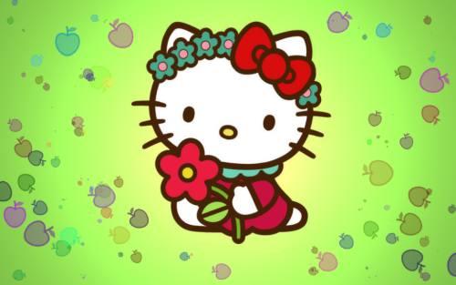 Gambar Hello Kitty Lucu 9