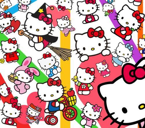 Gambar Hello Kitty Lucu 99 Lampu Kecil