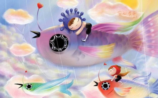 Gambar Ilustrasi Kartun Imajinasi 7