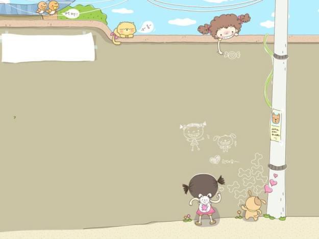 Gambar Ilustrasi Kartun Korea 1h