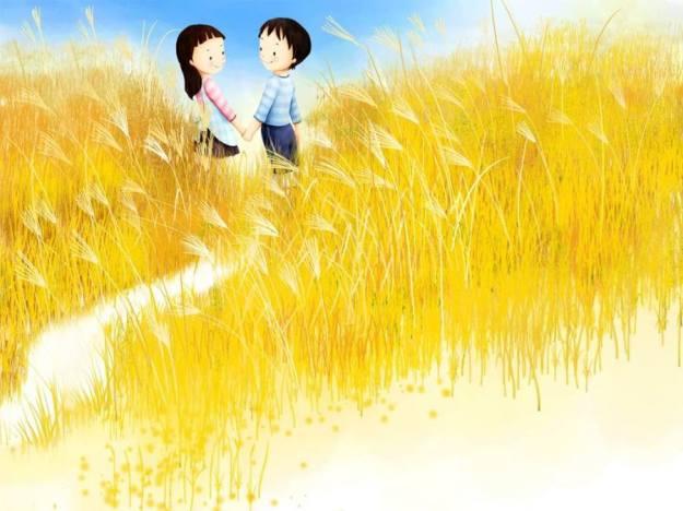 Gambar Ilustrasi Kartun Korea Cinta Unyu