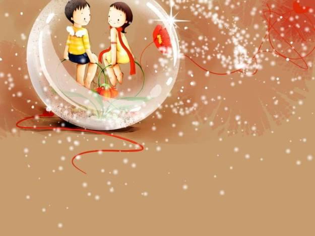 Gambar Ilustrasi Kartun Korea Happy