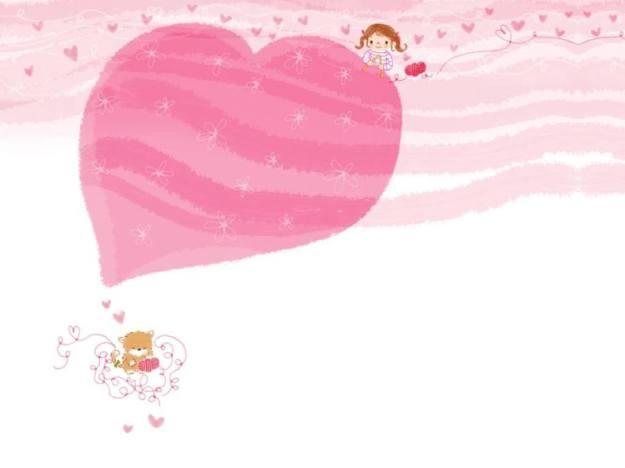 Gambar Ilustrasi Kartun Korea Heart
