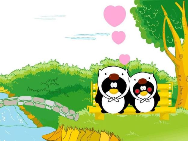 Gambar Ilustrasi Kartun Korea Lucu Love