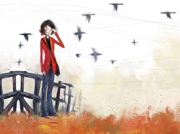 Gambar Ilustrasi Kartun Korea Menanti