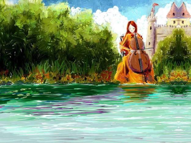 Gambar Ilustrasi Kartun Korea Music