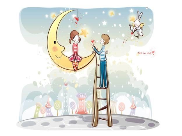Gambar Ilustrasi Kartun Romantis 2